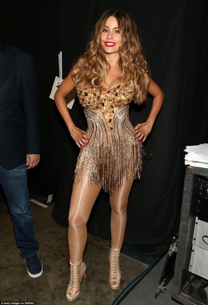 Sofia Vergara Grammys 2016
