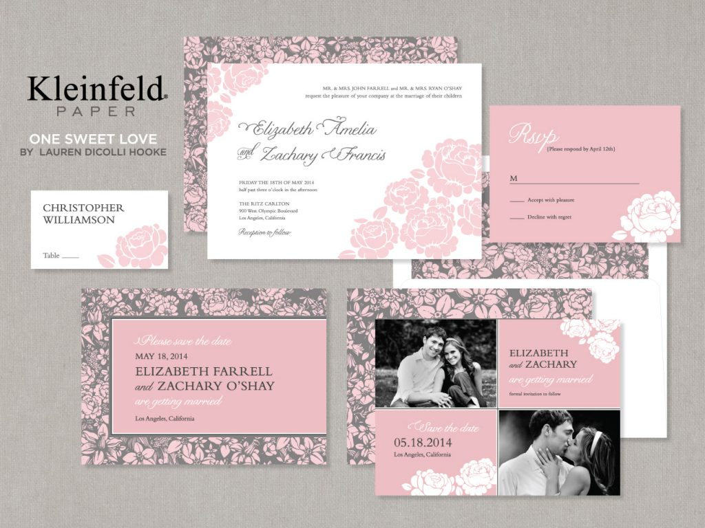 One Sweet Love kleinfeld Paper