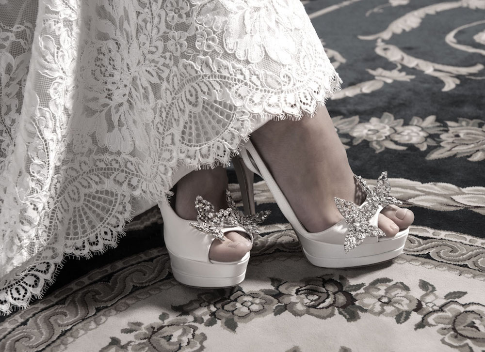 Pnina Tornai Shoes Kleinfeld Bridal