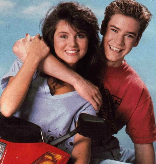 Zack & kelly Saved by the Bell