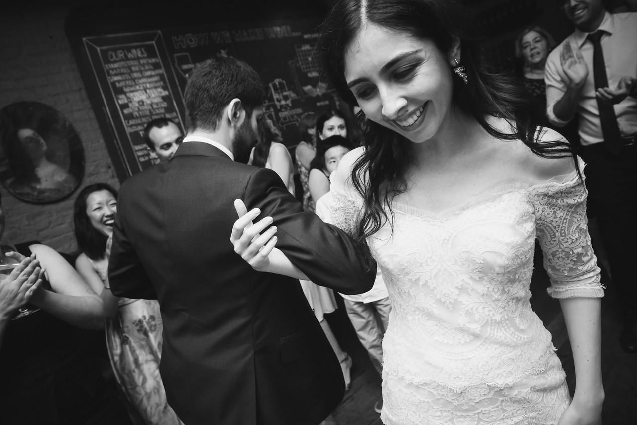 Jessica & Michael Kleinfeld Real Wedding