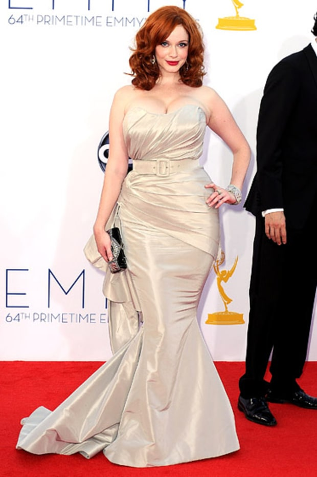 Christina Hendricks in Christian Siriano (WireImage)