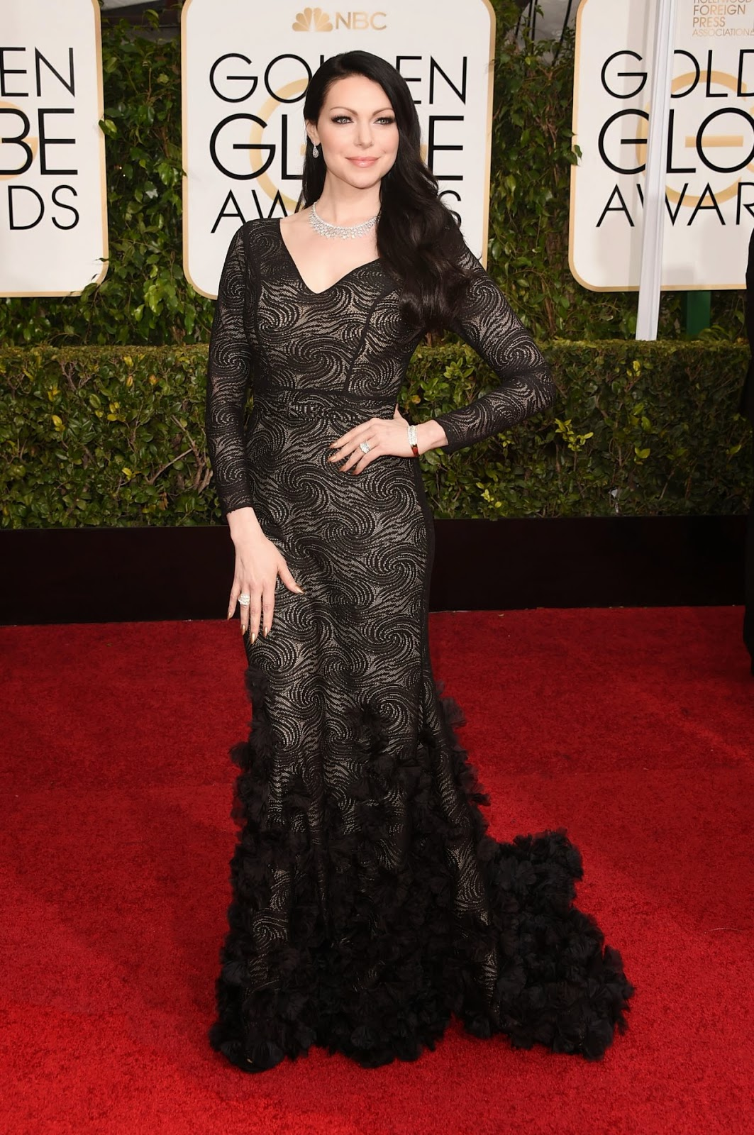 Laura Prepon in Christian Siriano (Getty)