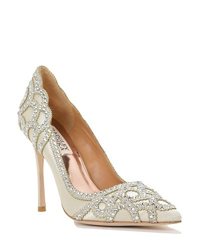 Badgley-Mischka-Shoes Kleinfeld Bridal