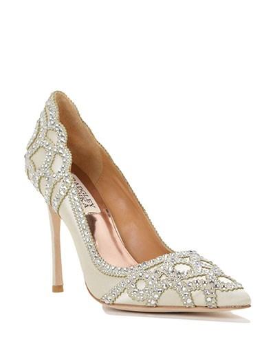 Badgley-Mischka-Shoes Kleinfeld Bridal