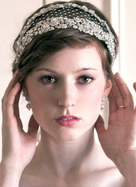 Enchanted Atelier Headpieces at Kleinfeld Bridal