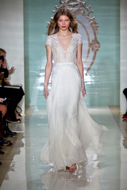 Reem Acra Kleinfeld Bridal