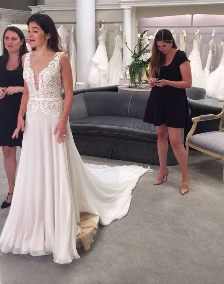 Reem Acra The Knot Facebook Live